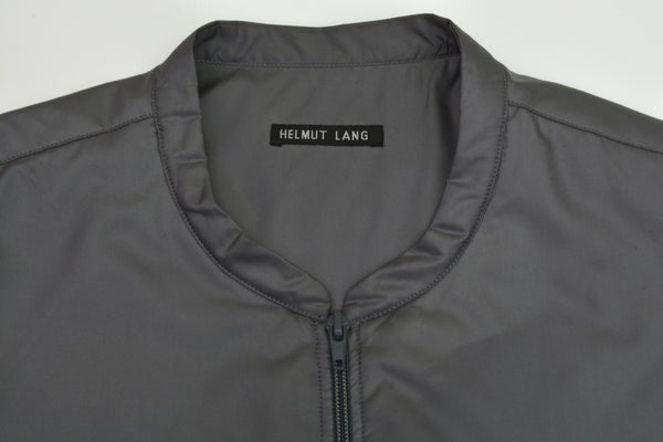 1998 Padded Coated Polyester Liner Vest with Asymmetric Pocket