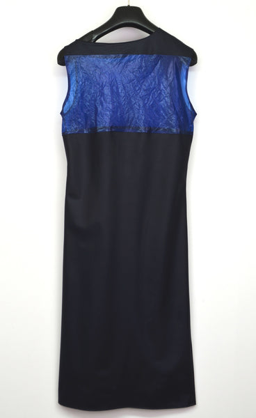 1995 Fine Nylon Dress with Transparent Panel