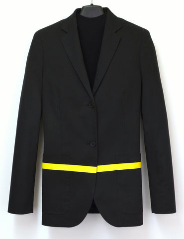 1997 Classic Blazer Jacket with Stripe Detail