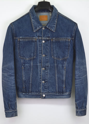 1998 Broken-In Raw Denim 4-Pocket Jacket