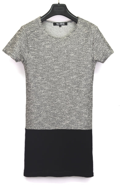 2009 Textured Bouclé Knit Elongated T-Shirt