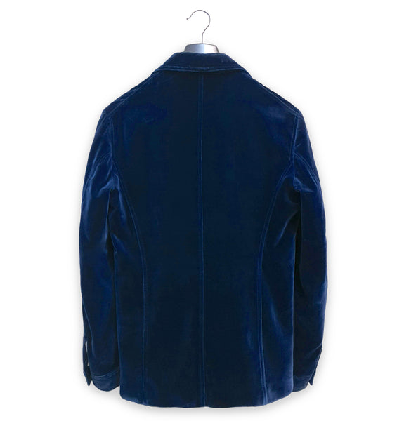 1996 Sartorial Military Jacket in Velvet