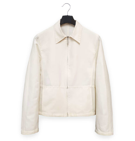 2000 Panelled Blouson in Technical Coated Linen