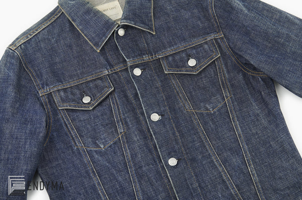 1999 Heavy Broken-In Raw Denim Classic 2 Pocket Jacket