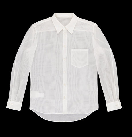 1996 Cotton Mesh Classic Tailor-Made Shirt