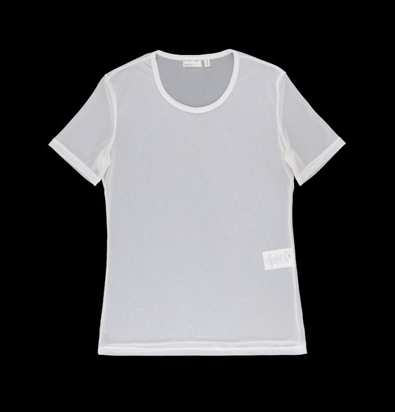 1999 Extrafine Transparent Ribbed Jersey T-Shirt