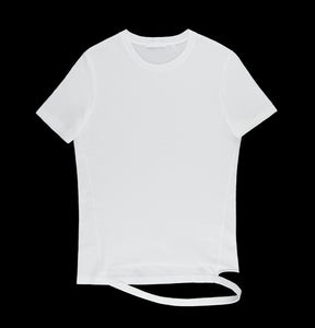 2003 Egyptian Cotton T-Shirt with Detached Hem