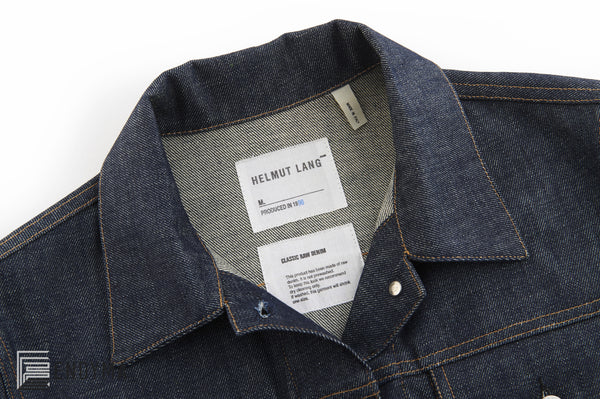 1998 Heavy Raw Denim Classic 2 Pocket Jacket