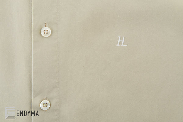 1998 Vintage Twill Classic Button-Down Shirt with HL Logo