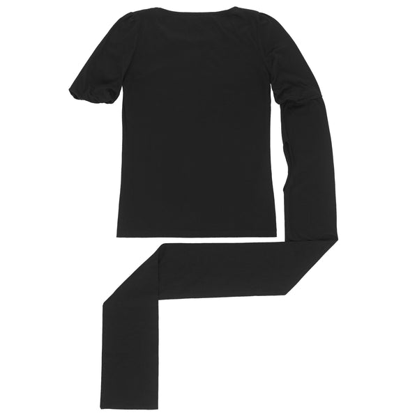 1998 Hand-Finished T-Shirt with Elongated Cut-Out Sleeve