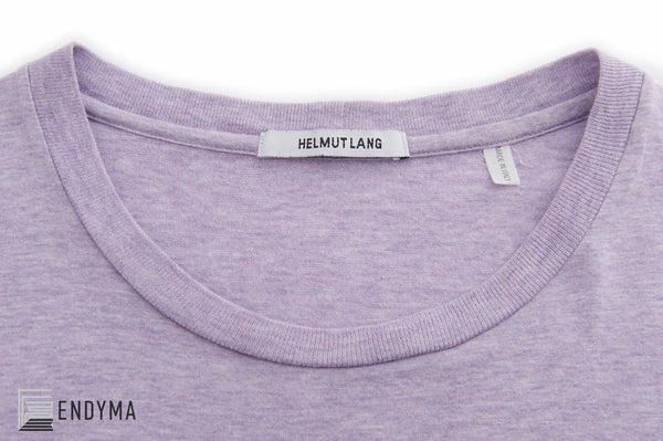 2004 Pale Violet Melange Jersey 'Janus in Leather Jacket' T-Shirt