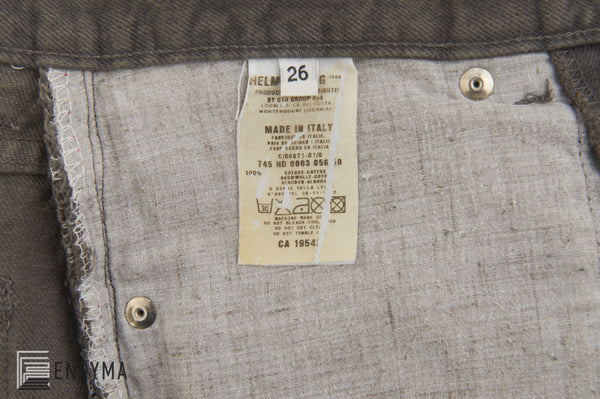 2000 Vintage Overdyed Grey Denim Painter Jeans (Size 27)