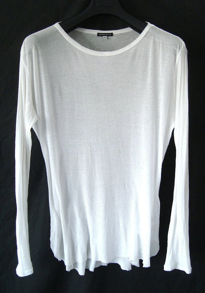 2009 Fine Cotton 'Aura' Sweater with Raw Hems