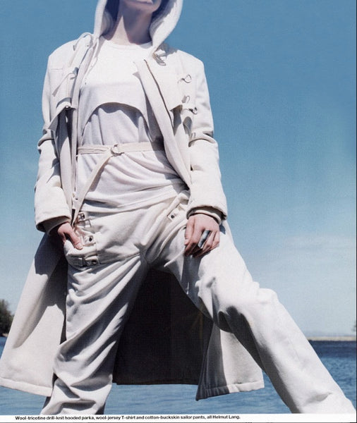 2002 Bondage Saillor Trousers with D-Ring Details