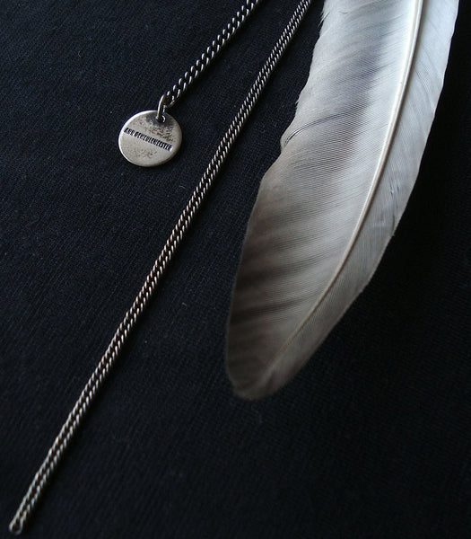 2011 Sterling Silver Feather Brooch with Chains