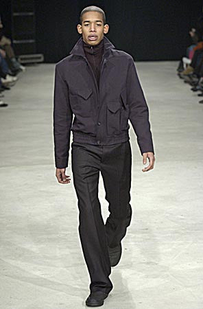 2004 Sculptural Blouson with Cargo Pockets and 'Shipwreck' Lining