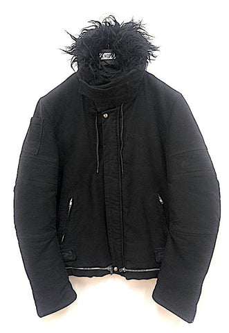 1999 Heavy Moleskin Biker Jacket with Bondage Straps