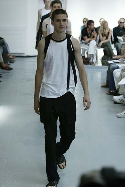 2003 Deconstructed Tank Top with Extended Hem
