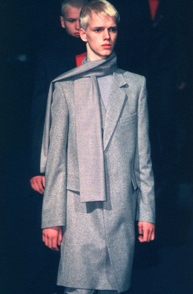 2002 'Archives' Virgin Wool Classic Tailored Coat