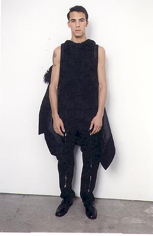 1999 Bondage Trousers with Zipped Pockets and Straps