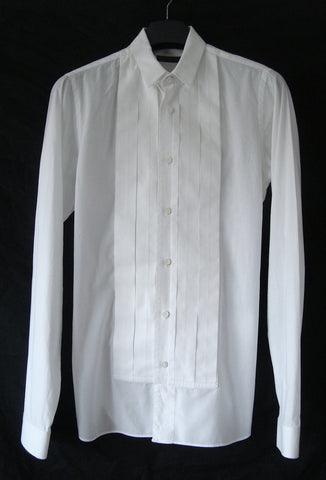 2009 Dancer Evening Shirt with Jacquard Plastron