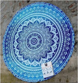 Blue Roundie Beyond Tapestry
