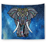 Majestic Elephant Beyond Tapestry