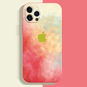 apple iphone 12 and 12 pro max premium silicone case cover blush