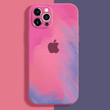 apple iphone 12 and 12 pro max premium silicone case cover bubblegum