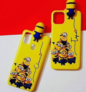 custom name minion case cover toy