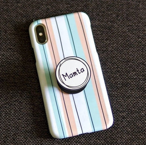 Vertical Multicolor Case Cover With Custom Holder