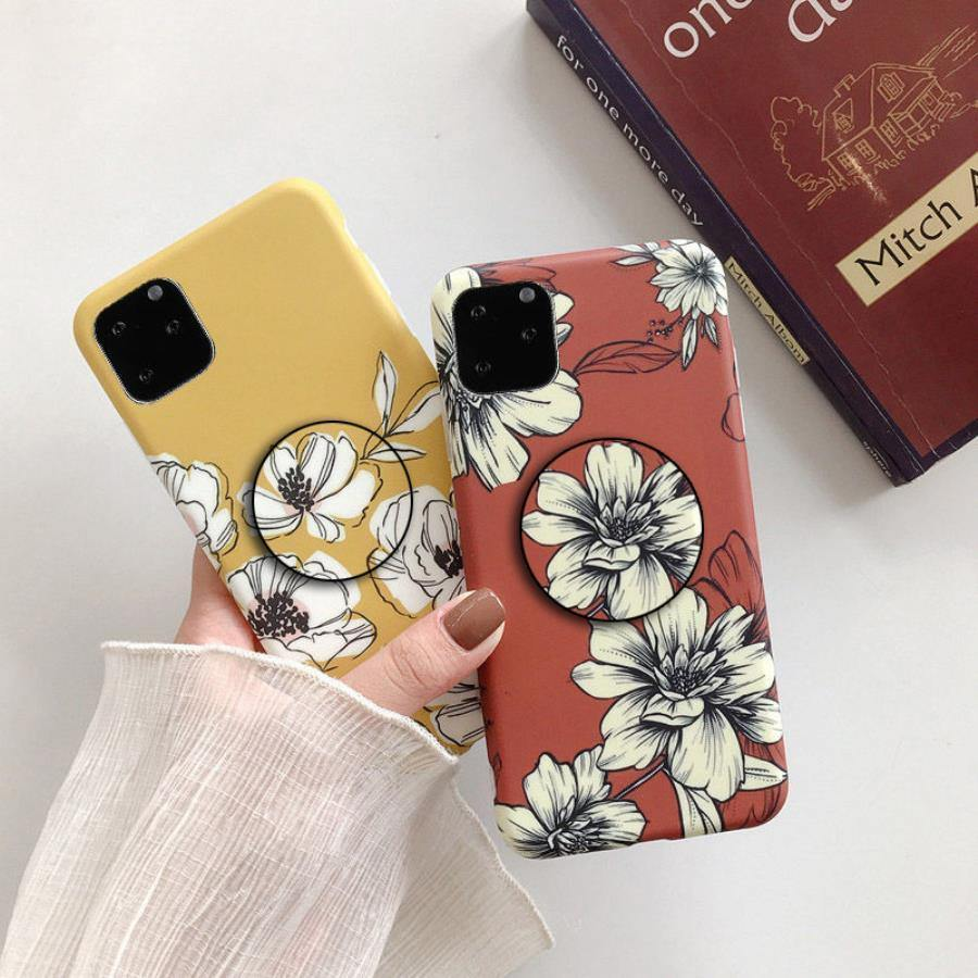 Floral Tide Colorful Case Cover