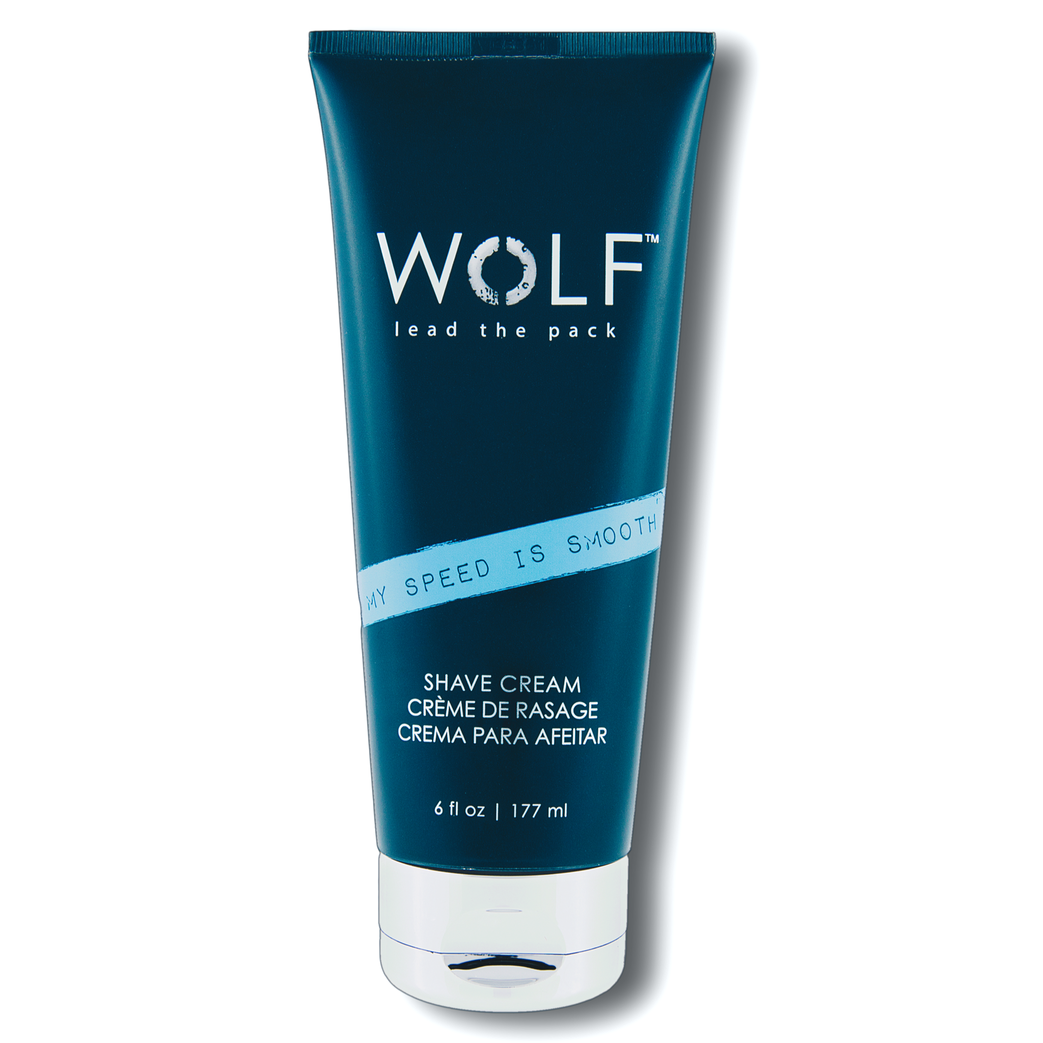 MY SPEED IS SMOOTH Shave Cream, 6 fl oz - Wolf Grooming