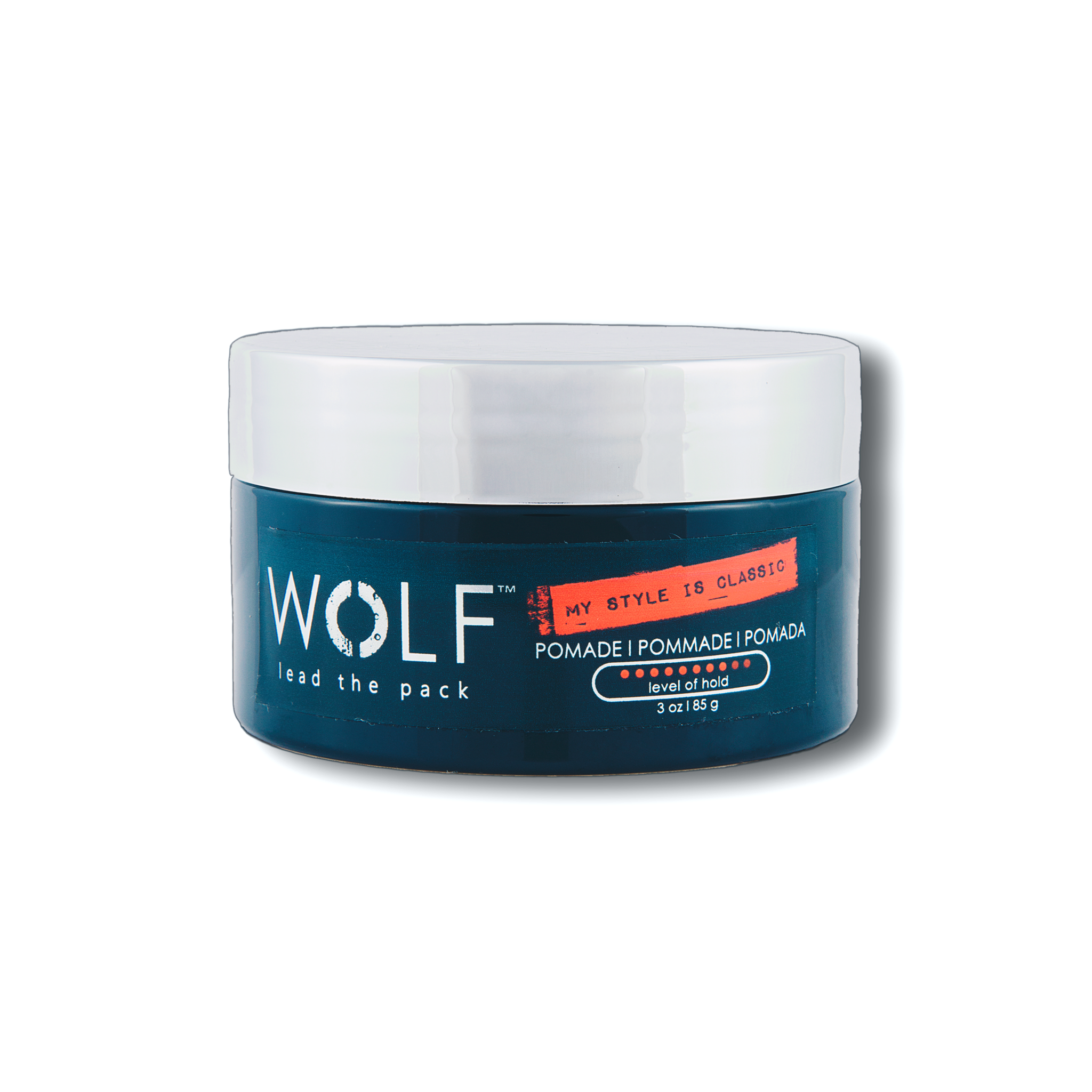 MY STYLE IS CLASSIC Pomade, 3 oz - Wolf Grooming