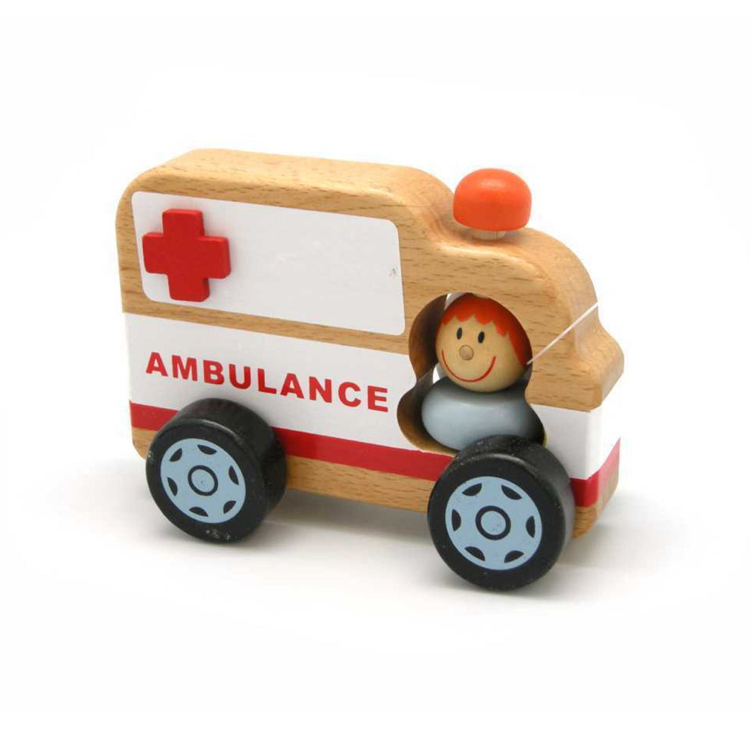 Ambulance with Paramedic