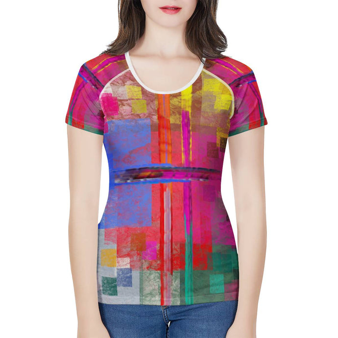 Everywhere Tshirt Women's All-Over Print T shirt
