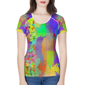 """Frequency"" T-shirt Women's All-Over Print T shirt"
