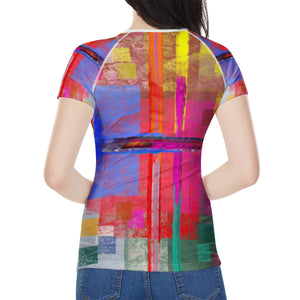"""Everywhere"" Women's All-Over Print T shirt"