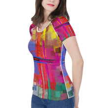 "Load image into Gallery viewer, ""Everywhere"" Women's All-Over Print T shirt"