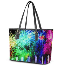Load image into Gallery viewer, Fireworks Tote Bag