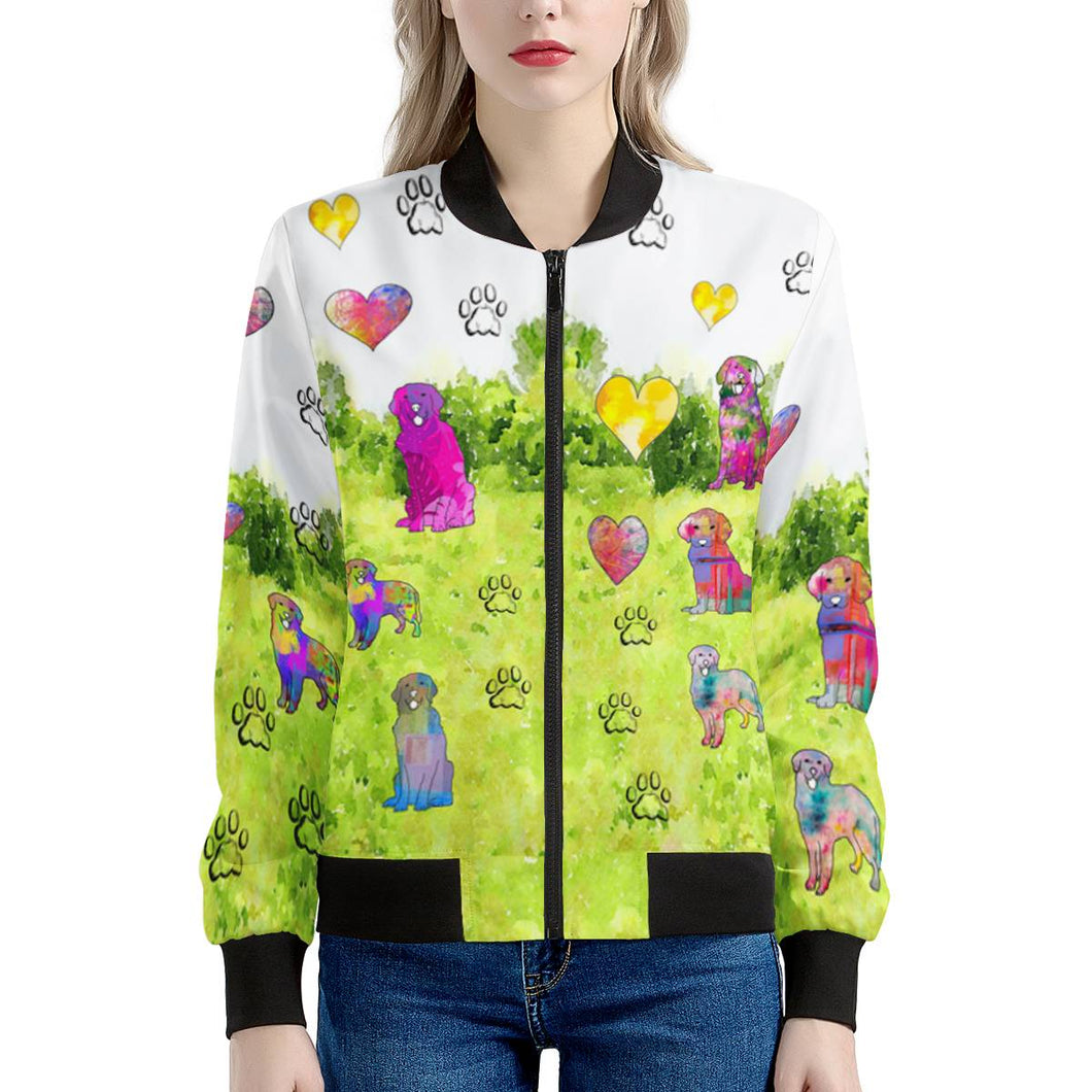 Golden Retriever Jacket, Green