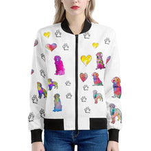 Load image into Gallery viewer, Golden Retriever Jacket, White