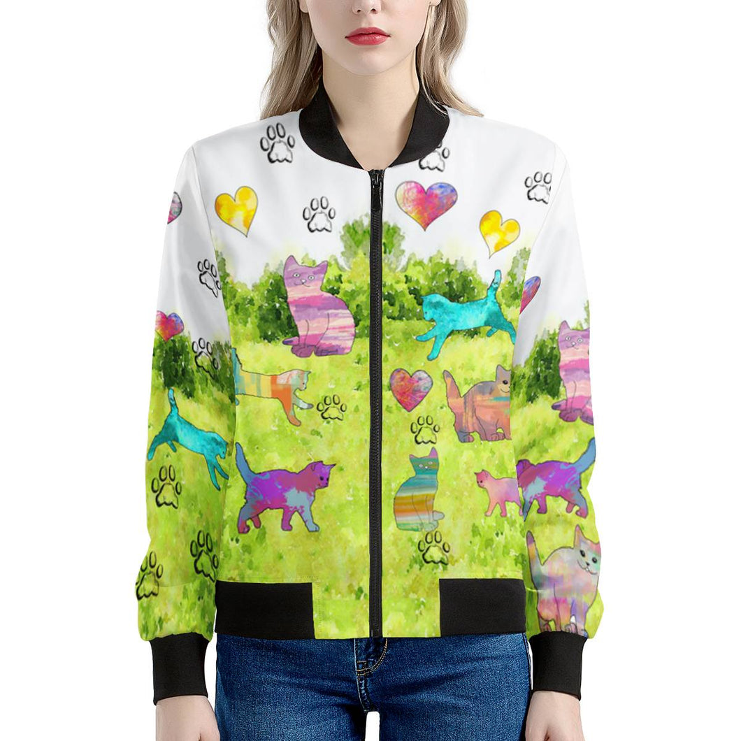 Cats Women's Bomber Jacket