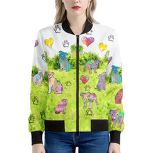 Load image into Gallery viewer, Bulldogs Women's Bomber Jacket
