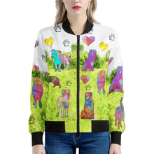 Load image into Gallery viewer, Australian Shepherd Women's Bomber Jacket