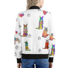 Load image into Gallery viewer, German Shepherd Jacket, White