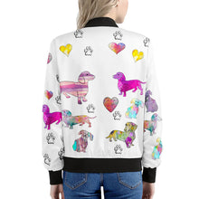Load image into Gallery viewer, Dachshunds Jacket, white