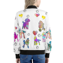 Load image into Gallery viewer, Poodle Jacket, white