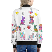 Load image into Gallery viewer, French Bulldog Jacket, white