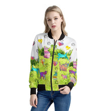 Load image into Gallery viewer, Cats Jacket Green